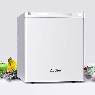 Audew 最新 冷蔵庫 46L 半導体冷凍チップ技術 1ドア 右開き 2電源式 AC110V/DC12V 12ヶ月保証付き(460*550*510mm)