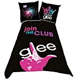 Glee - Parure de Lit - Housse de Couette 140x200 Taie 65x65cm - Coton - NEUF