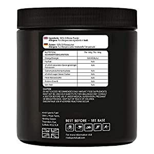 D-RIBOSE 100% Pure 500g Tub Great for ATP Energy Levels and CFS Non GMO