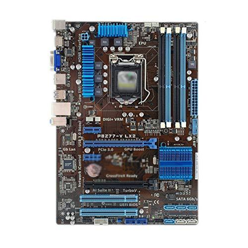 Tablero de reemplazo de computadora Placa Base De Juegos Fit For Asus P8Z77-V LX2 Motopular De Escritorio Z77 Socket LGA 1155 I3 I5 I7 DDR3 32G SATA3 USB3.0 ATX Placa base de computadora de escritorio