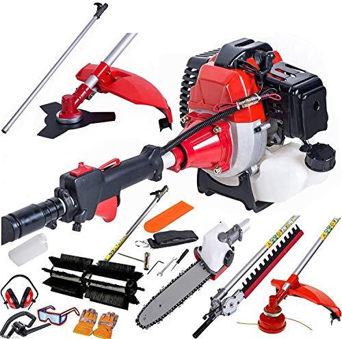 5 1 desmalezadora múltiples funciones, herramientas, cortasetos, cortadoras de césped jardinería, varilla de extensión,Red