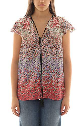 Etro Luxury Fashion Damen 136264348600 Rot Seide Bluse | Frühling Sommer 20