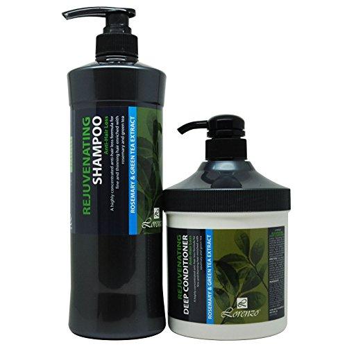 Lorenzo Rejuvenating Shampoo & Deep Conditioner Set