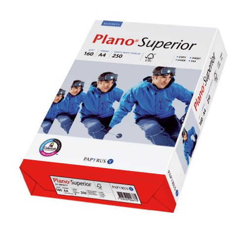Papyrus 88026787 Drucker-/Kopierpapier Premium Planosuperior 160 g/m², A4 250 Blatt Weiß