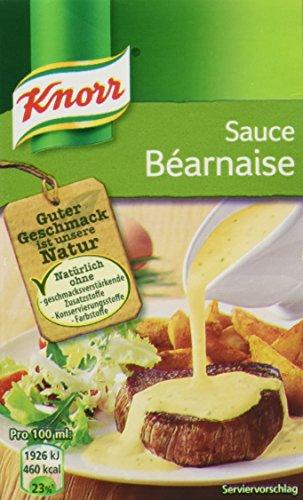 Knorr Tafelfertige Béarnaise Soße, 4er Pack (4 x 250 ml)