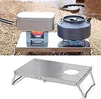 遮熱テーブル アウトドア 遮熱板 シングルバーナー用 テーブル 軽量 折り畳み ステンレス製 イワタニ トランギア ソト SOTO ST-310 バーナー対応