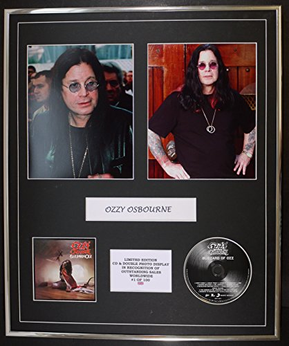 OZZY OZBOURNE/Cd y doble Photo Display/Ltd. Edición/Coa/BLIZZARD OF OZZ