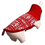 Wouapy FloCo Pull de Navidad para Perros de Talla 24