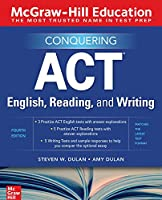 Conquering ACT English, Reading, and Writing, 4th Edition Front Cover