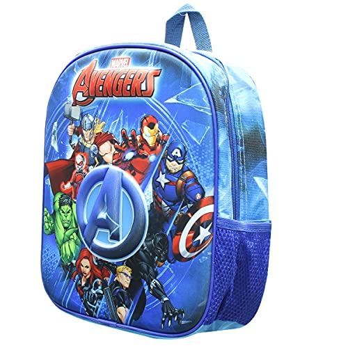 Skyline Mochila Escolar 3D  Avengers  Infantil para Niños  25x31x10 CM  Poliéster EVA