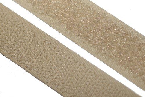 dalipo 17003 - Klettband zum annähen, 20mm, beige