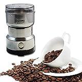 FosCadit Stainless Steel Electric Bean Grinder Powder Maker Coffee Bean Grinder 300W