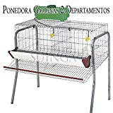 Suinga Bateria GALLINAS PONEDORAS 2 departamentos. Capacidad 10 gallinas. 106x70x95...