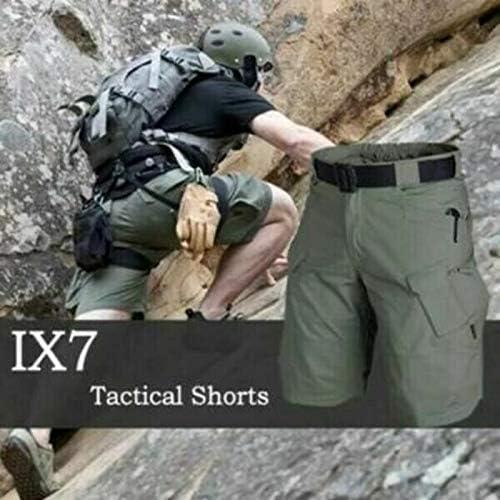 2021 Shorts Men's Cargo Shorts Waterproof Relaxed Hiking Shorts for Young Men Boys Outdoor