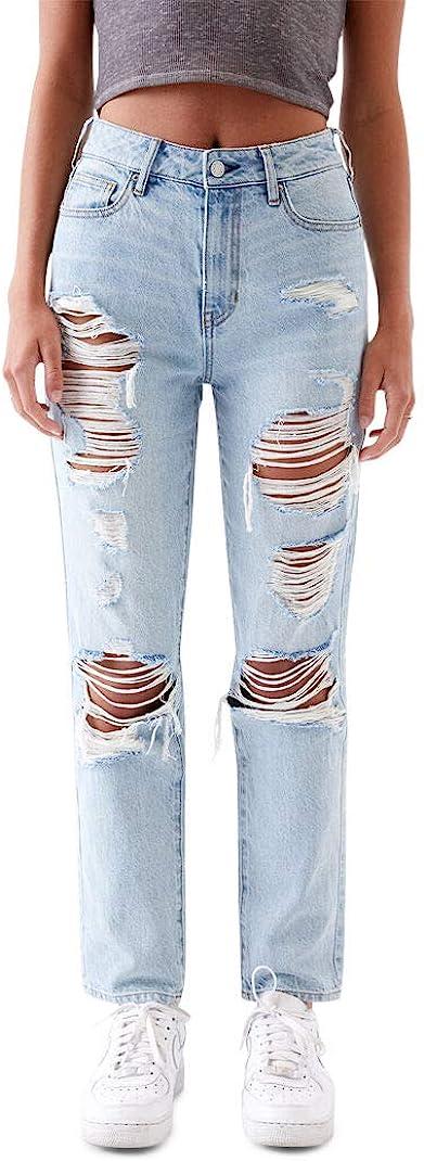 PacSun Women's Light Blue Mom Jeans