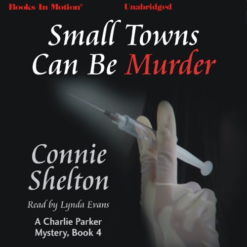Small Towns Can Be Murder audiobook cover art