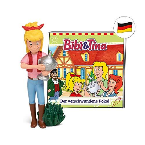 tonies Hörfiguren für Toniebox - Bibi und Tina - Der verschwundene Pokal - ca. 37 Min. - Ab 6 Jahre -DEUTSCH