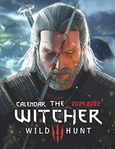 The Witcher 3 Wild Hunt: 2021 – 2022 Games Calendar – 18 months – High Quality Images