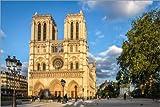 Poster 30 x 20 cm: Kathedrale Notre-Dame de Paris im