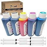 Fink 5 Botellas De Tinta De Tinte De Calidad Compatible con Hp 301 302 304 62XL 364 920 950 932 655 934 903 Cartuchos De Tinta