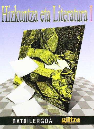 Hizkuntza Eta Literatura 1 - 9788481185553