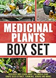 Medicinal Plants: Box Set : Discover and Learn About Calendula,Sage,Grape Seed Extract,Tur...