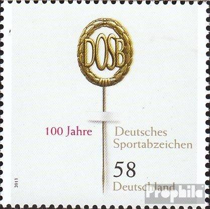Prophila Collection BRD (BR.Deutschland) 2999 (kompl.Ausg.) 2013 Deutsches Sportabzeichen (Briefmarken für Sammler) Sport Sonstige