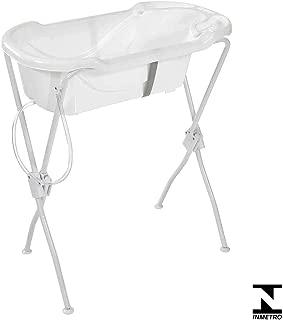 Banheira ergonômica com suporte Tutti Baby branco