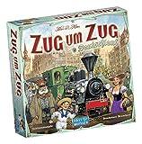 Days of Wonder - Zug um Zug Deutschland, Strategiespiel, Familienspiel, Deutsch