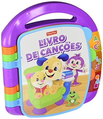 Fisher-Price- Libro de aprendizaje (Portugués), juguete niño 6 meses (Mattel FVT23)