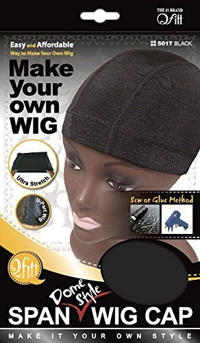 Span Dome style wig cap by Qfitt.