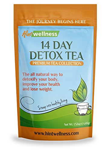 Hint Wellness 14 Day Detox Tea - for Weight Loss, Digestion, and Bloating – Natural Ingredients...
