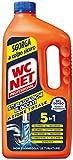 WC Net - Stura Scarichi Bloccati, con Agenti Salvatubi - 1000 ml