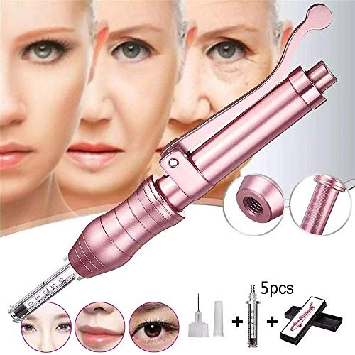 DXMBHL Syringe Atomizer Anti Wrinkle Hyaluronic Pen Multifunction Professional Noninvasive Nebulizer for Skin Care Whitening Moisture Beauty Salon Best Gift