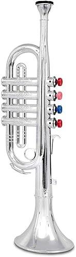 Bontempi - TR 3802/N - Instrument de Musique - Trompette 4 Notes
