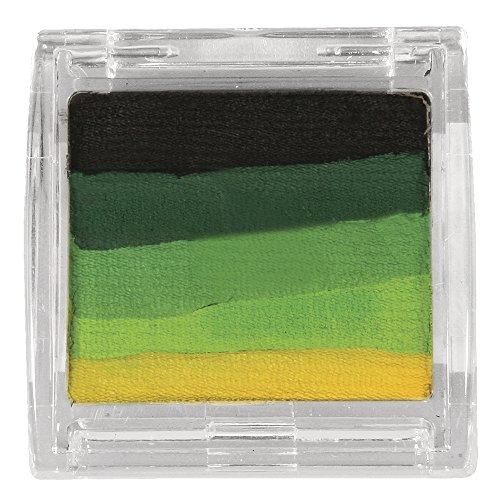 RAYHER 38789000 Paint me Schminkfarbe, Dose, SB-Blister 10 g, grün- und gelbtöne