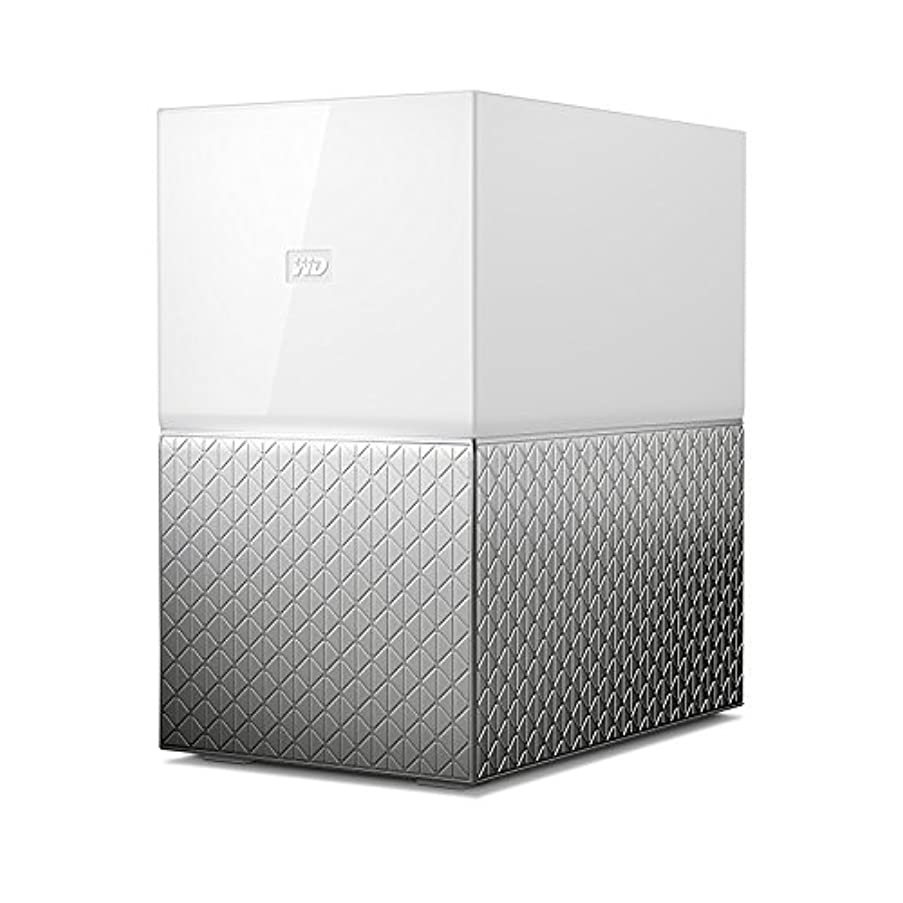 WD 8TB My Cloud Home Duo Personal Cloud Storage - Dual Drive - WDBMUT0080JWT-NESN