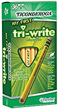 My First Tri Write 36Ct Pencils With Eraser - Case of 2