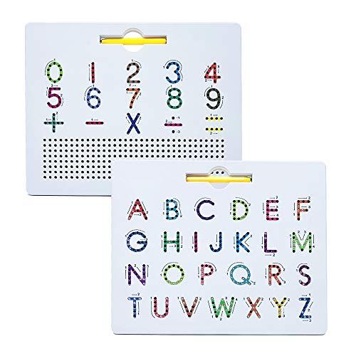 Alfabetização e Letramento Lousa Mágica Magnética Com Números