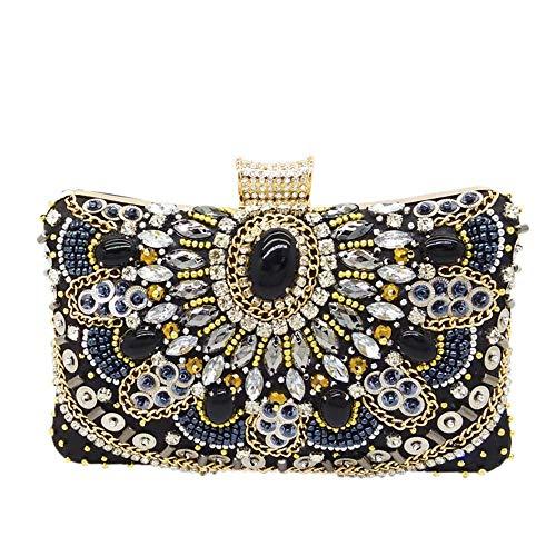Vintage Beaded Evening Bags Bridal Clutch Purse Formal Wedding Handbags