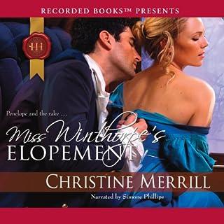 Miss Winthorpe's Elopement audiobook cover art