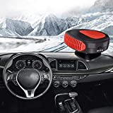 Portable Car Heater Defroster Demister 12V 150W Electric Heater Windshield 360 Degree Rotation Heating Cooling Fan Car...