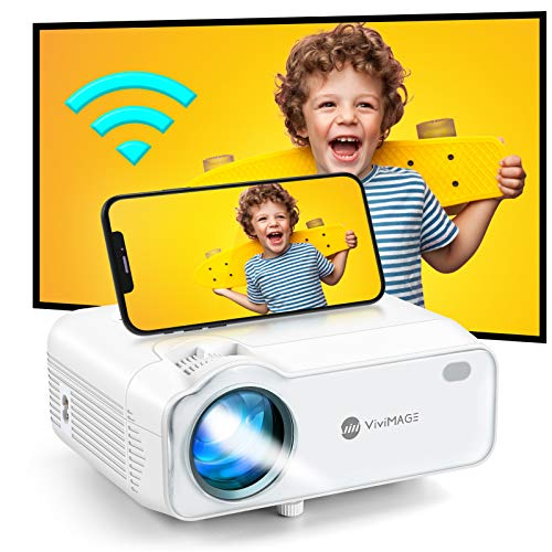 VIVIMAGE Explore 5 Mini Projector WiFi