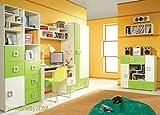 Kinder/Kids Classic Möbel Set Zusammensetzung LABYRINTH System D. 2D Kleiderschrank, Schreibtisch, wandhängend Regal, 2 x freistehend Tür/Schubladen und innovative...
