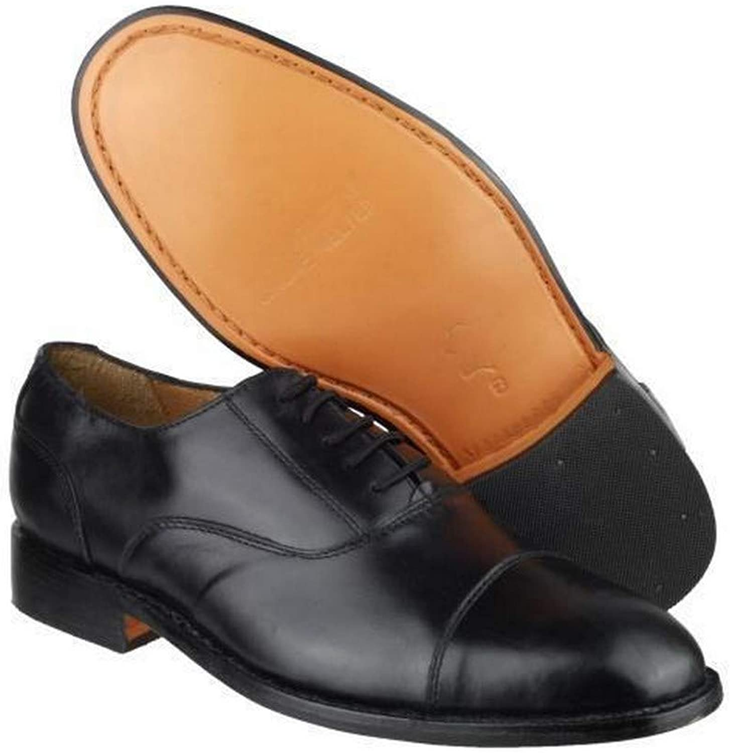 Amblers James Leather Soled shoes Mens shoes Leather - Black