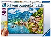 Hallstatt in Österreich Gold Edition. 500 Teile Puzzle