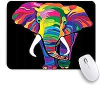 マウスパッド Mouse Pad Elephant Digital Printing Mousepad Non-Slip Rubber Base for Computers Laptop