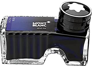 Montblanc Ink Bottle Royal Blue 105192 – Premium-Quality Refill Ink in Deep Blue for..