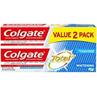 2-Pack Colgate Total Whitening Toothpaste Gel