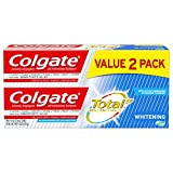 Colgate Total Whitening Toothpaste Gel, 4.8 Oz (2 Pack)
